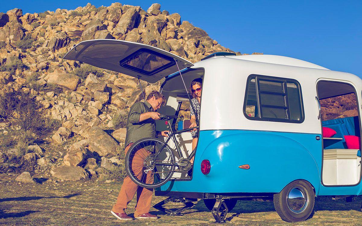 Solar retro modern happier camper hc1 features a lego like interior