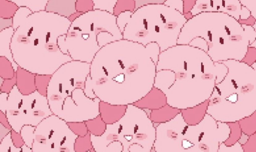 Kirby Pink Aesthetic Cute Desktop Wallpaper Cute Laptop Wallpaper Kawaii Wallpaper