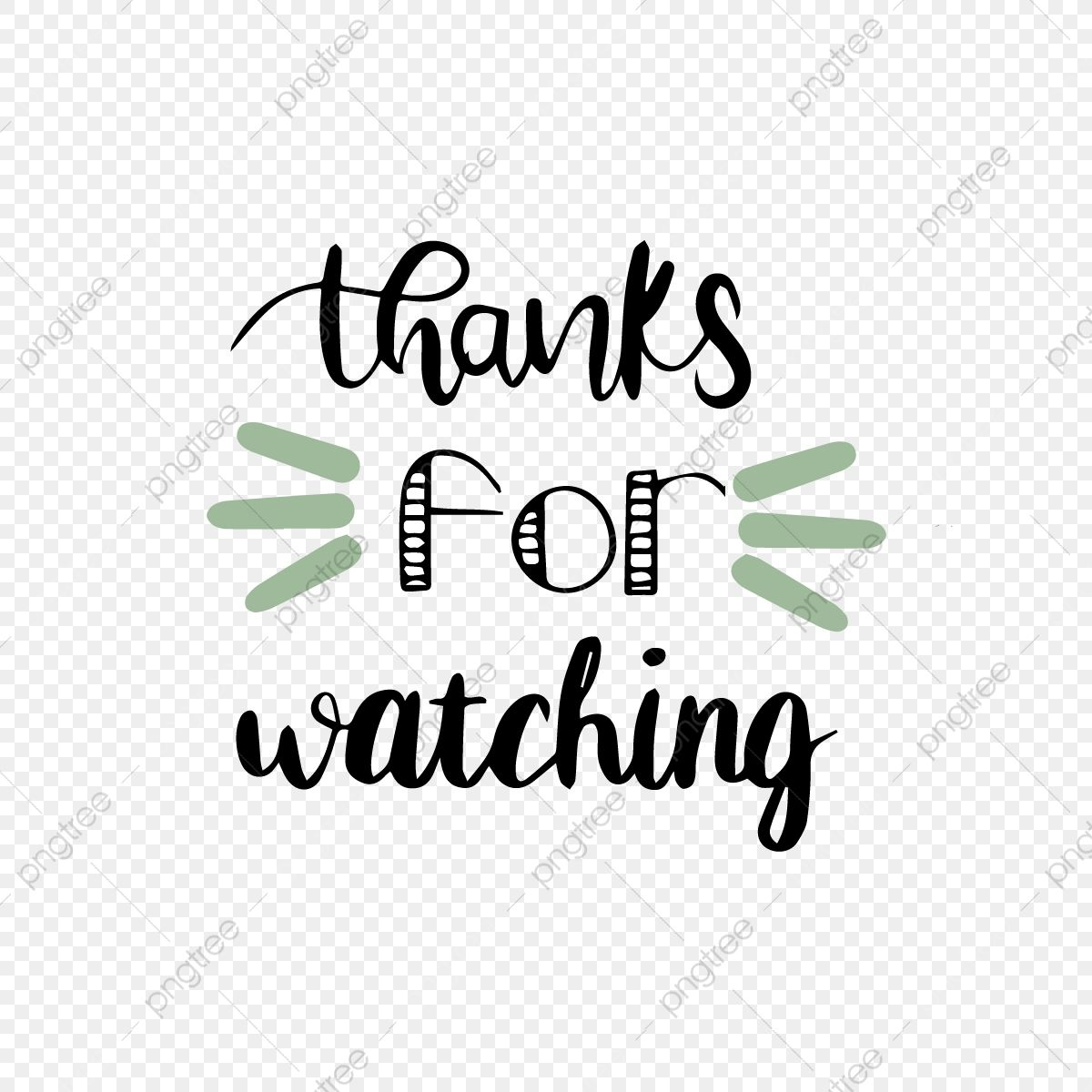 Cartoon Hand Drawn Green Thank You Watch Font Cartoon Hand Painted Thank You Png And Vector With Transparent Background For Free Download How To Draw Hands First Youtube Video Ideas Youtube