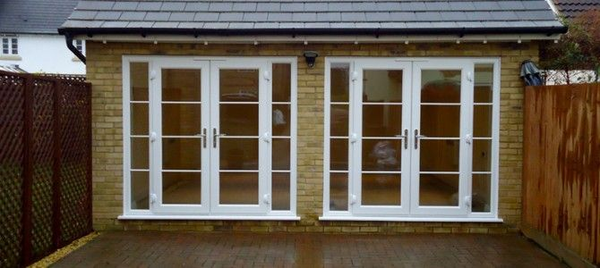 Double Garage Doors With Windows garage conversion with french doors - google search | garage