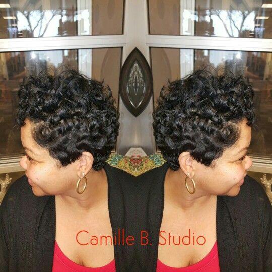 Betty Boop Curls Short Hair Styles Hair Makeup Hair Styles