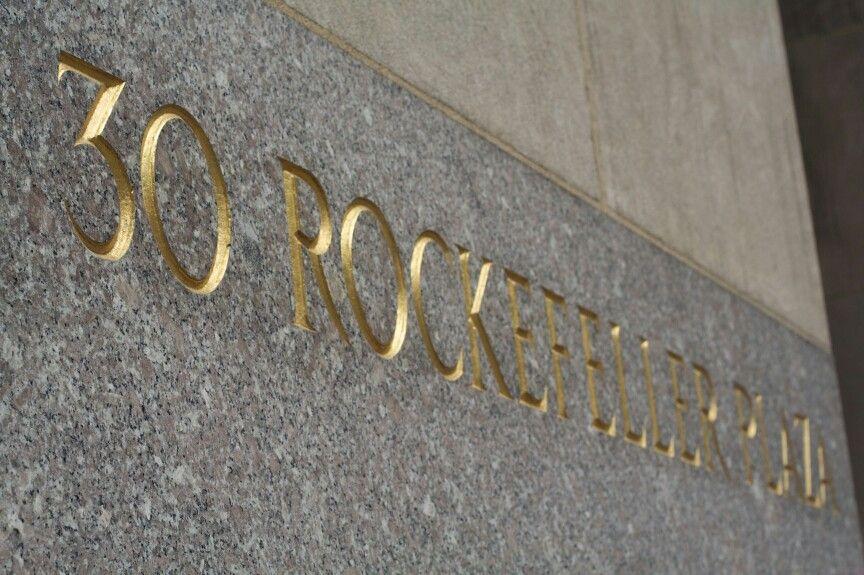 Visit 30 Rockefeller Plaza, NewYork 2015 Novelty sign