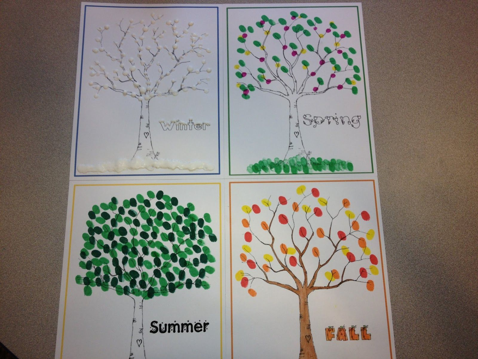 Adventures In Tutoring And Special Education 4 Seasons