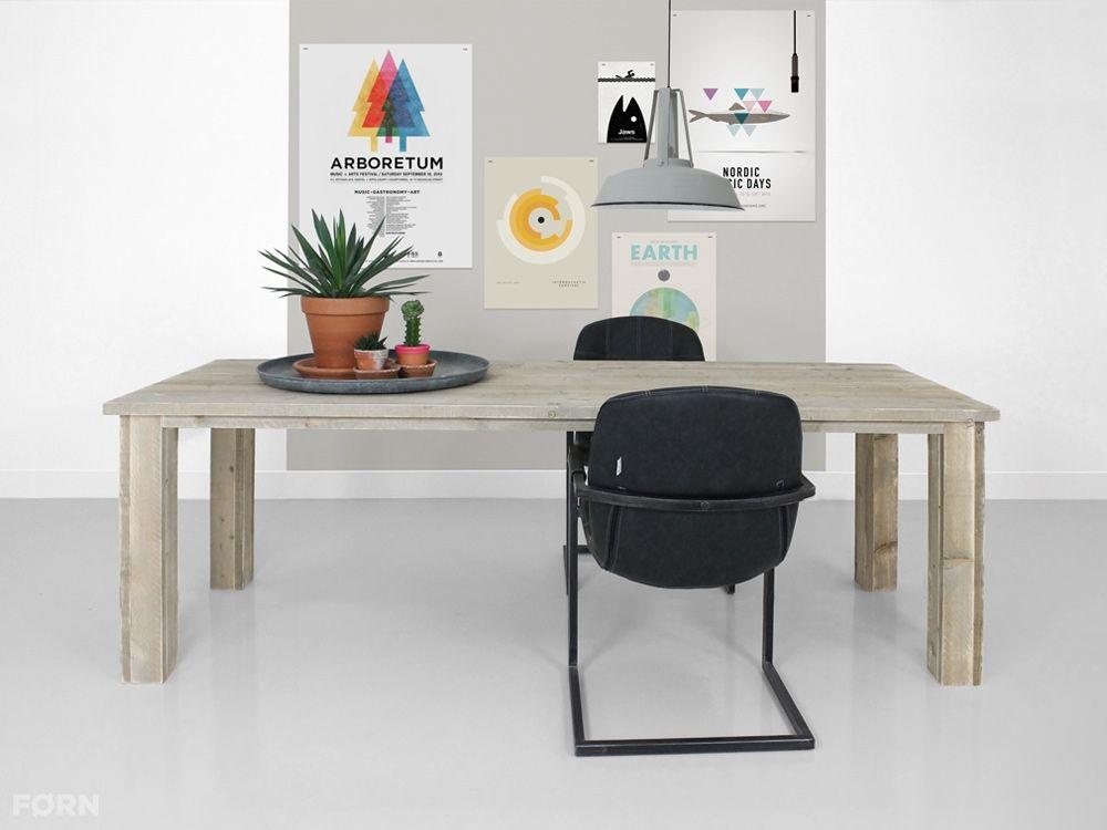 Bauholz Tisch Bob Küche Wohnideen Wohnzimmer Büro Garten - beistelltisch für küche