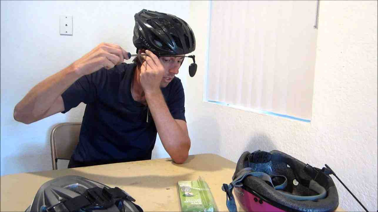 Bicycle Helmet Mirror Review Bicycle Mirrors Bicycle Helmet