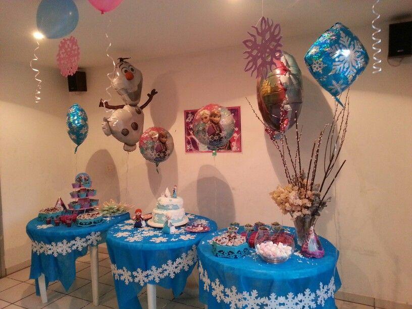 Alice's birthday party - Frozen