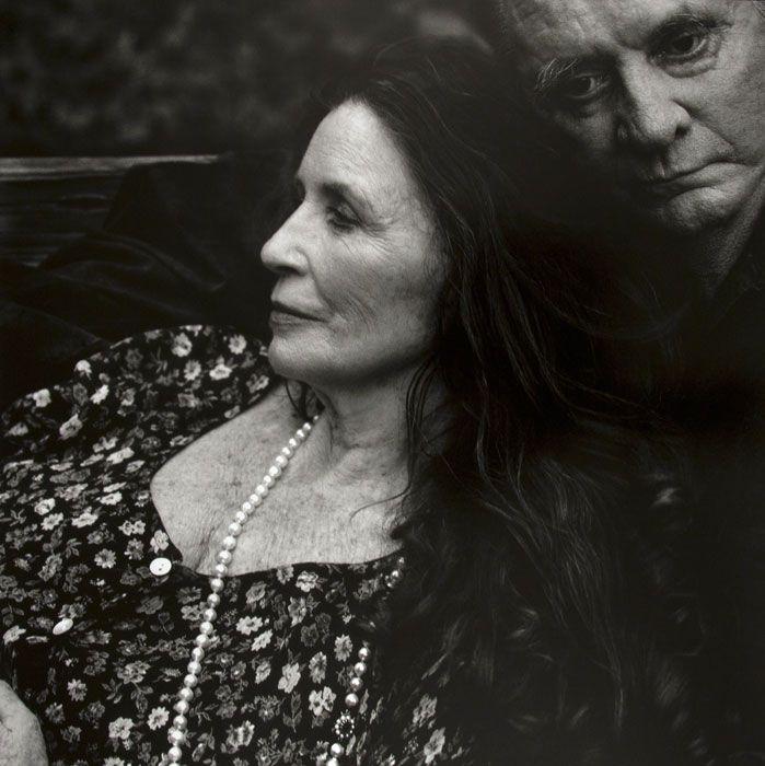June Carter Cash & Johnny Cash, Hiltons, Virginia by Annie Leibovitz  ~beautiful love & devotion