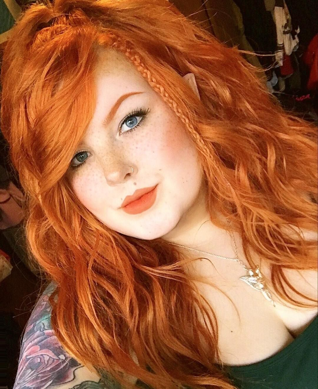 569 Likes 26 Comments Marisa Lothlorienelf On Instagram Beautiful Red Hair Girls With Red Hair Red Hair