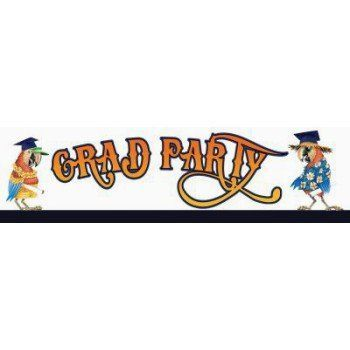 Graduation Luau 6foot Fringe Banner ** Details can be found by clicking on the image.