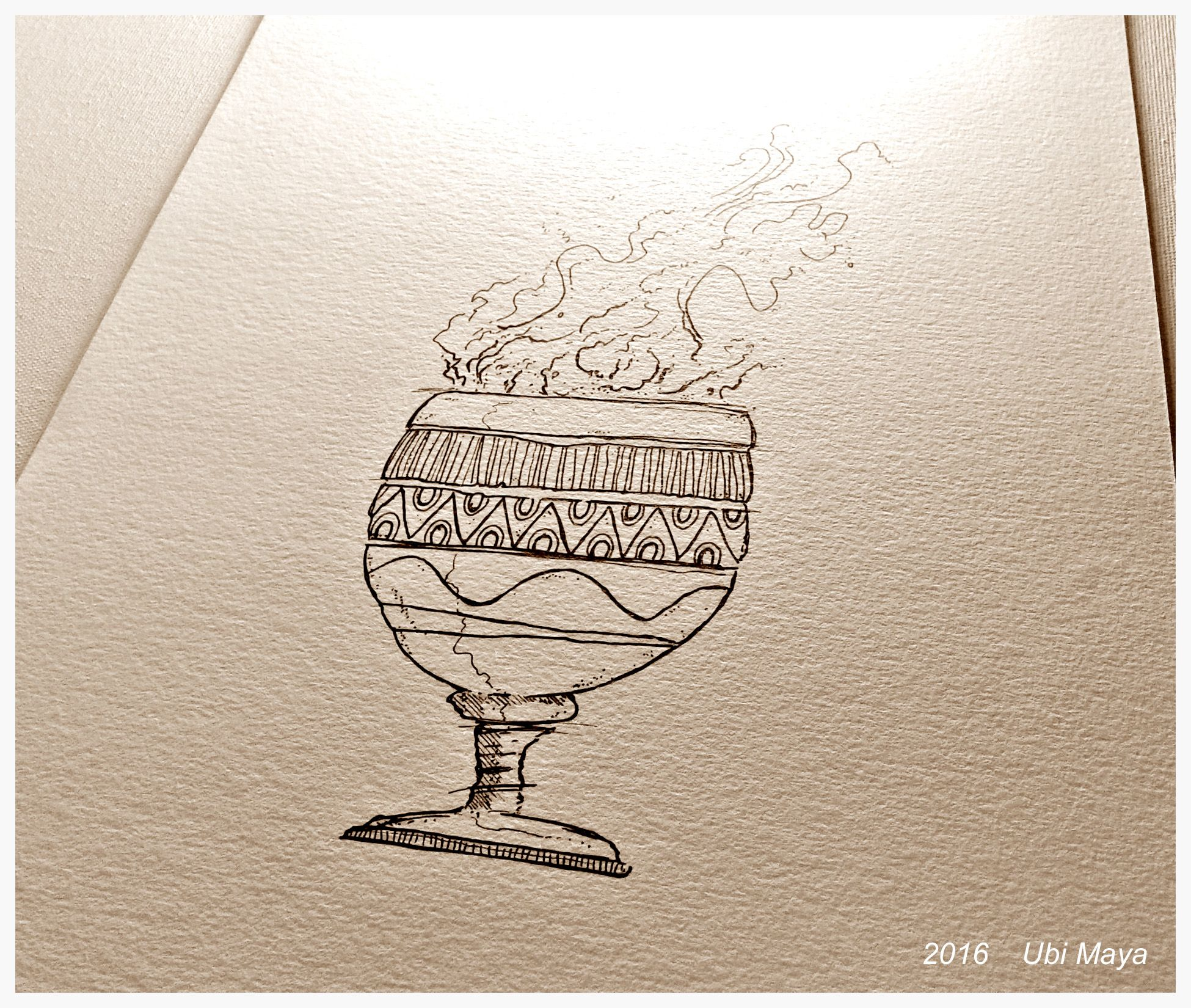 "Desenhando ""Egunitá"" ☆☆☆☆☆☆ https://www.instagram.com/notovitch/"