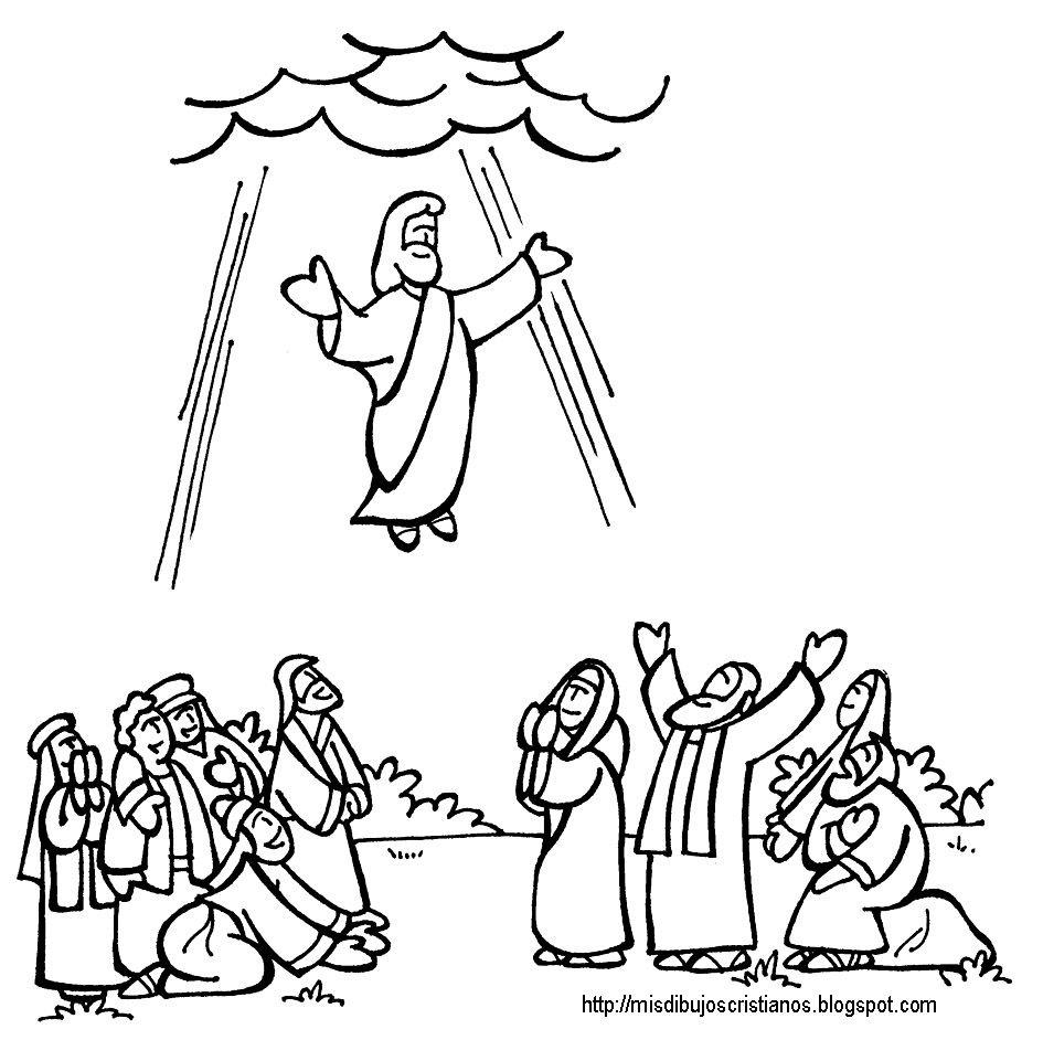 ascension de jesus  acts lapbook  christi himmelfahrt