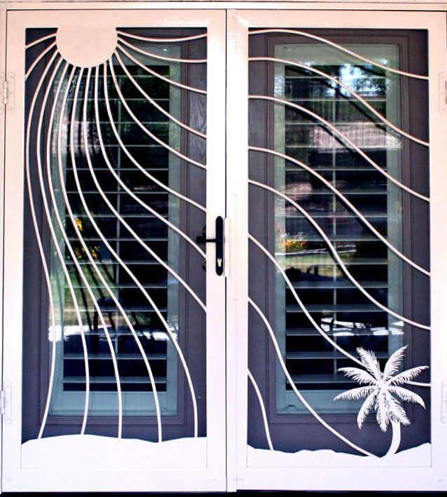 Love This. Doesnu0027t Make Your House Look Like A Prison! Patio Door
