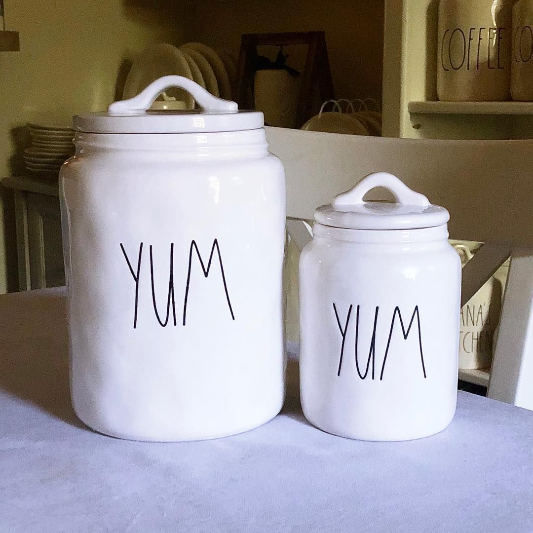 Rae Dunn Og Big Yum And Baby Yum Canister Found Early 2018 Corea