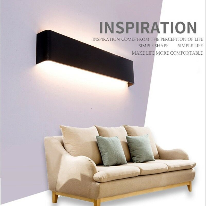 4w 8w 14w Led Bad Spiegelleuchte Badezimmer Beleuchtung Aufbau Lampe Wandlampe Ebay Led Wall Lamp Mirror With Lights Wall Lamp