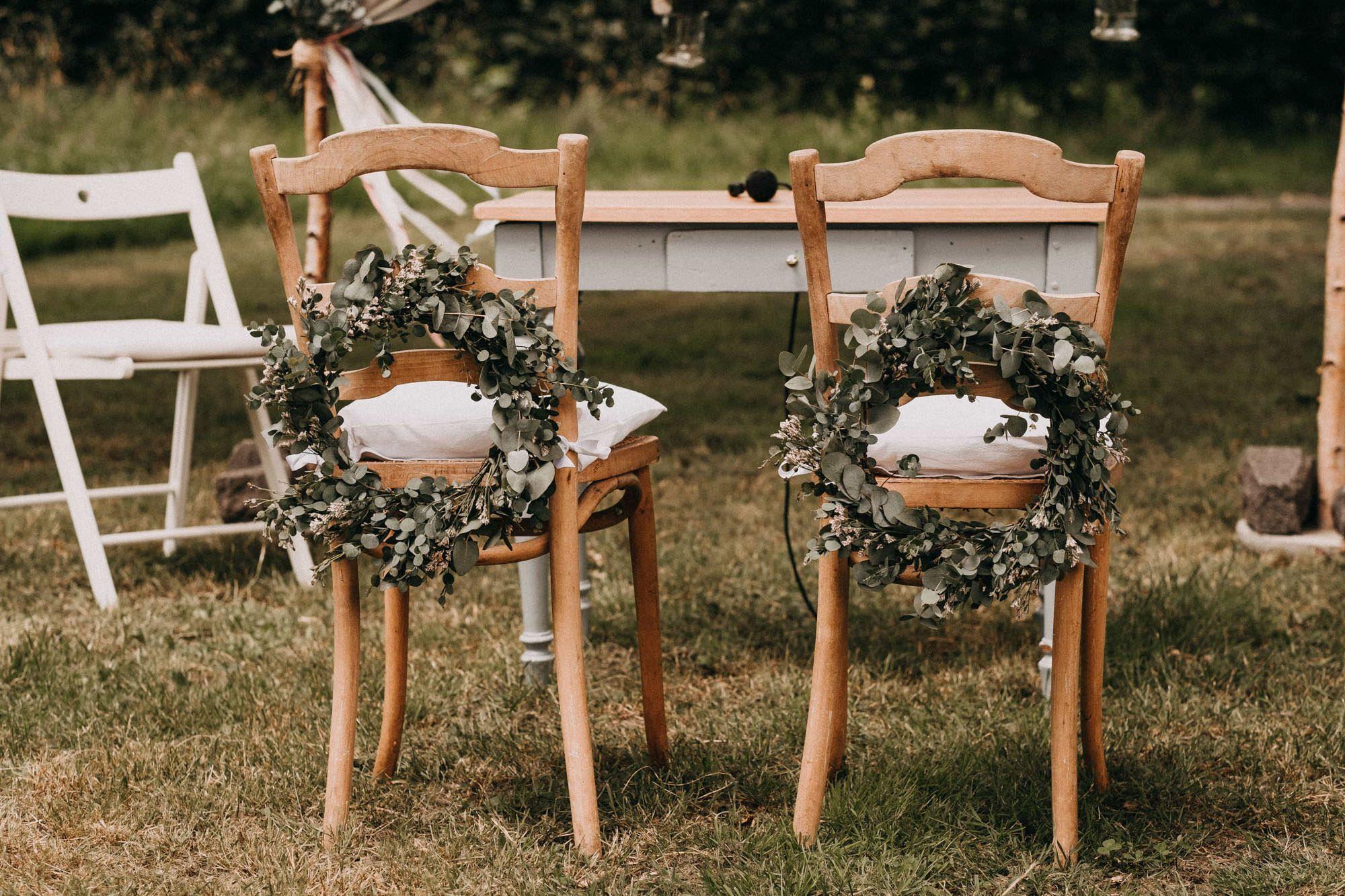 Eli und Jens feiern ihre Hochzeit in der historischen