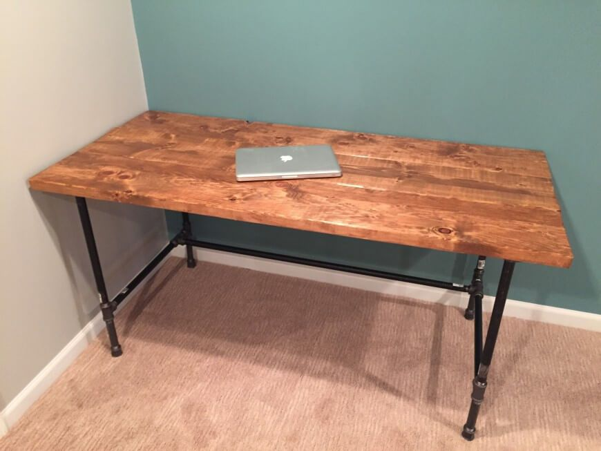 Diy How To Build A Desk