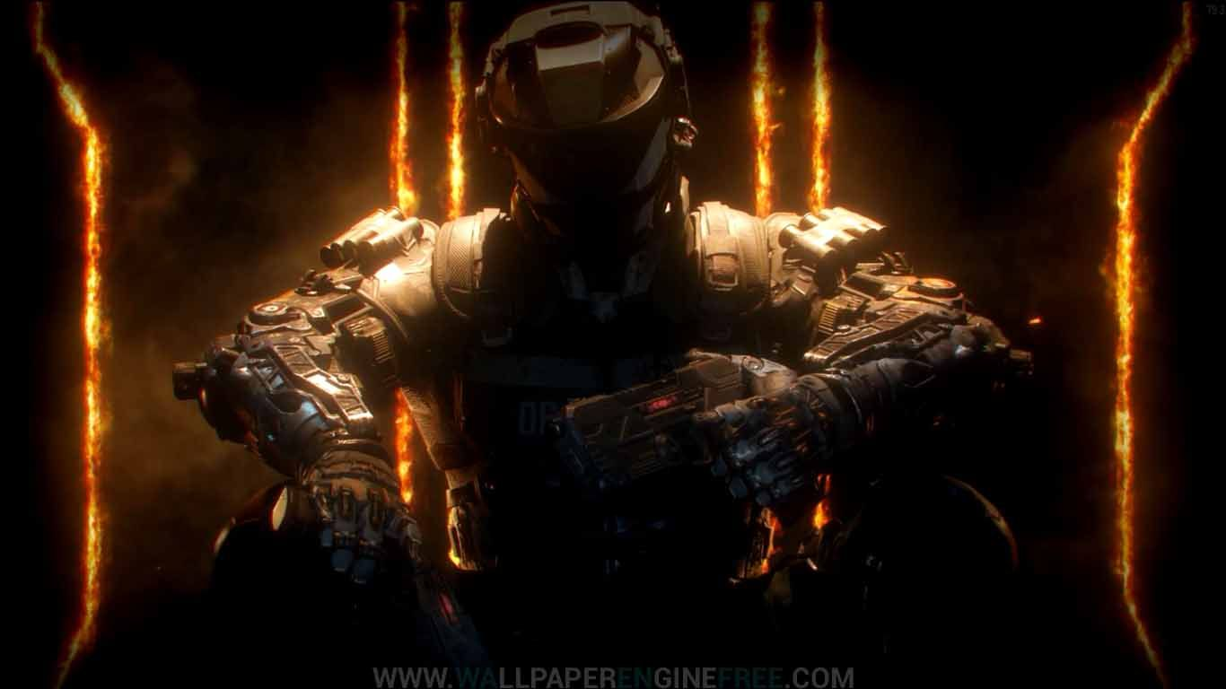 Download Call Of Duty Black Ops 3 1080p Wallpaper Engine Free Call Of Duty Black Ops 3 Call Of Duty Black Black Ops