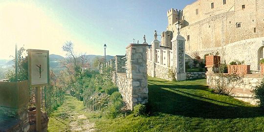 Castello orsini. One of our wedding photo locations