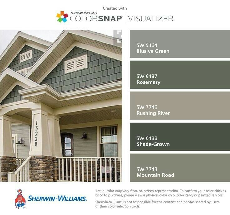 Grey With Green Undertones Paint House Paint Exterior Exterior Paint Colors For House Exterior House Colors