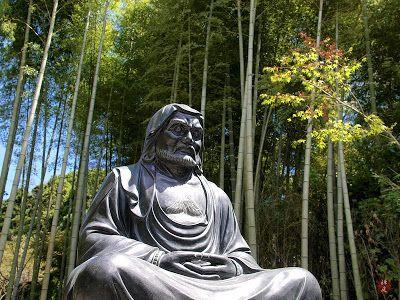 A Bodhidharma statue in Kencho-ji | Bodhidharma, Buddhist, Japan temple