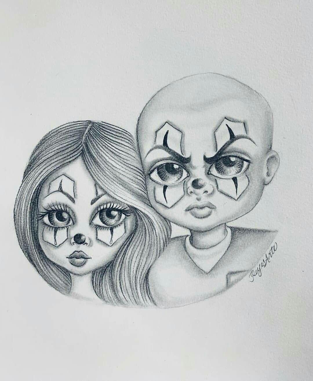 Gangster Love Drawings : gangster, drawings, Tattoo