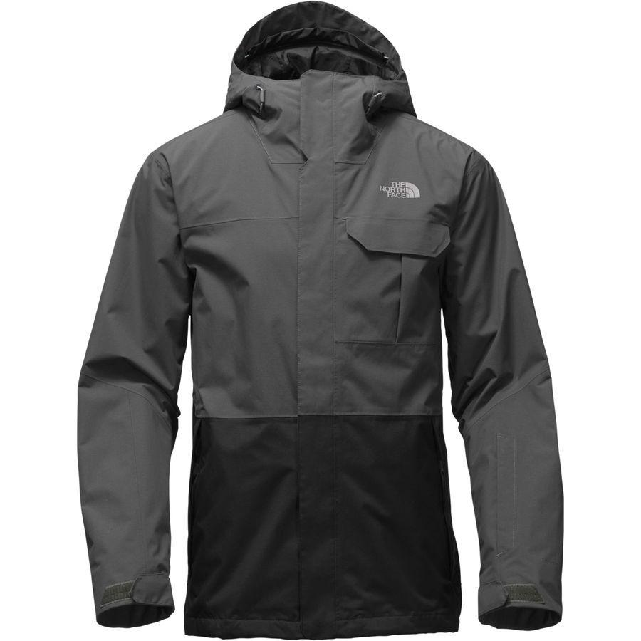 The North Face Garner Triclimate Jacket Men S Asphalt Grey Tnf Black North Face Jacket Mens Grey North Face Jacket Winter Jacket North Face [ 900 x 900 Pixel ]
