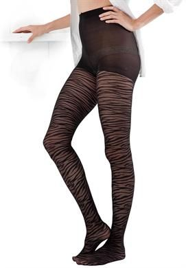 51090444e9336 Wide Width Textured Animal Print Tights by Comfort Choice® | Hosiery &  Socks from Roamans $14.99 <----- it's difficult for plus size women to find  tights ...