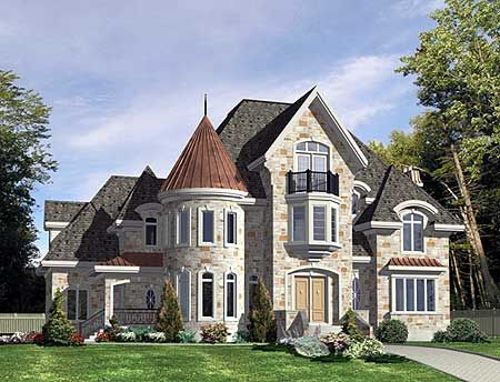Plan 9029pd European Mansion With Two Reading Rooms In 2021 European House Plans Victorian House Plans Luxury House Plans