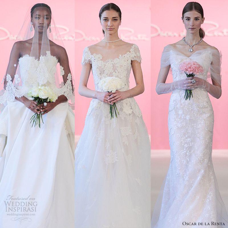 Oscar de la Renta 2015 Bridal Collection