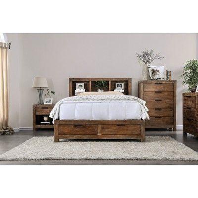 Stupendous Griffin Wood Queen Bed Weathered Light Oak Sun Pine Andrewgaddart Wooden Chair Designs For Living Room Andrewgaddartcom