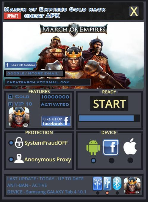 March of Empires hack apk http//marchofempireshack