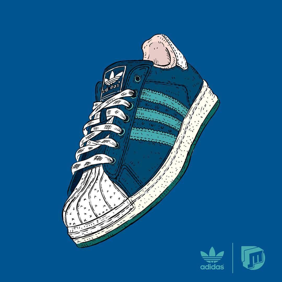 I love Adidas Superstars
