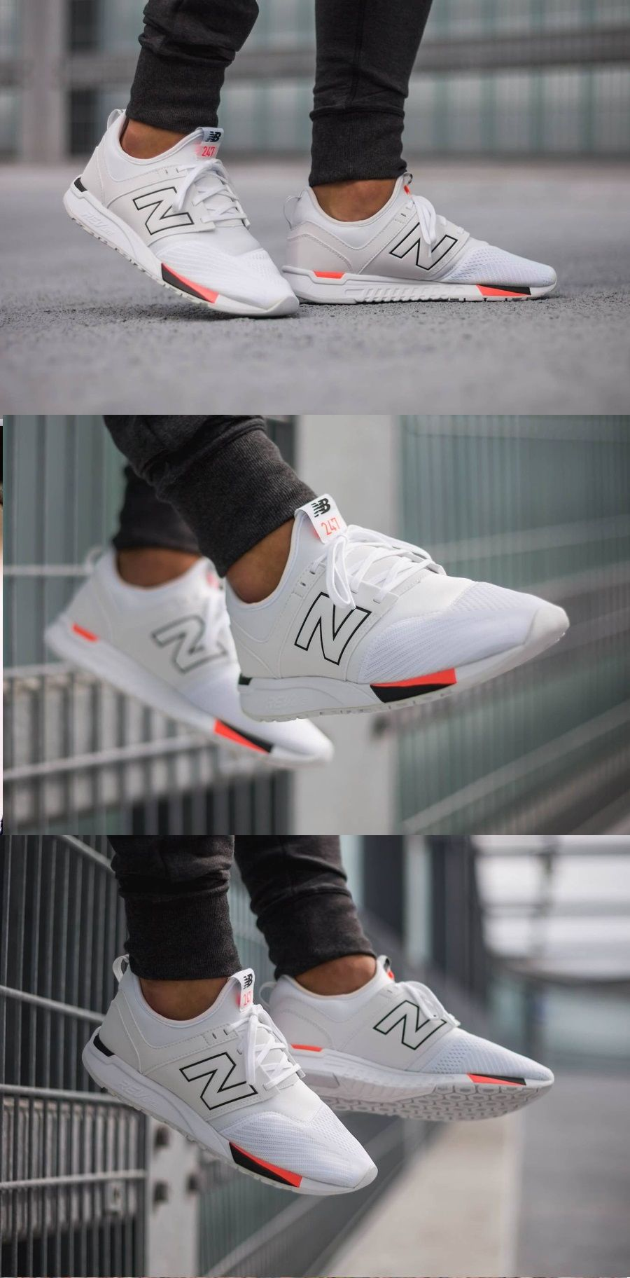 New Balance 247 - Classic White Black | Sneakers men fashion ...