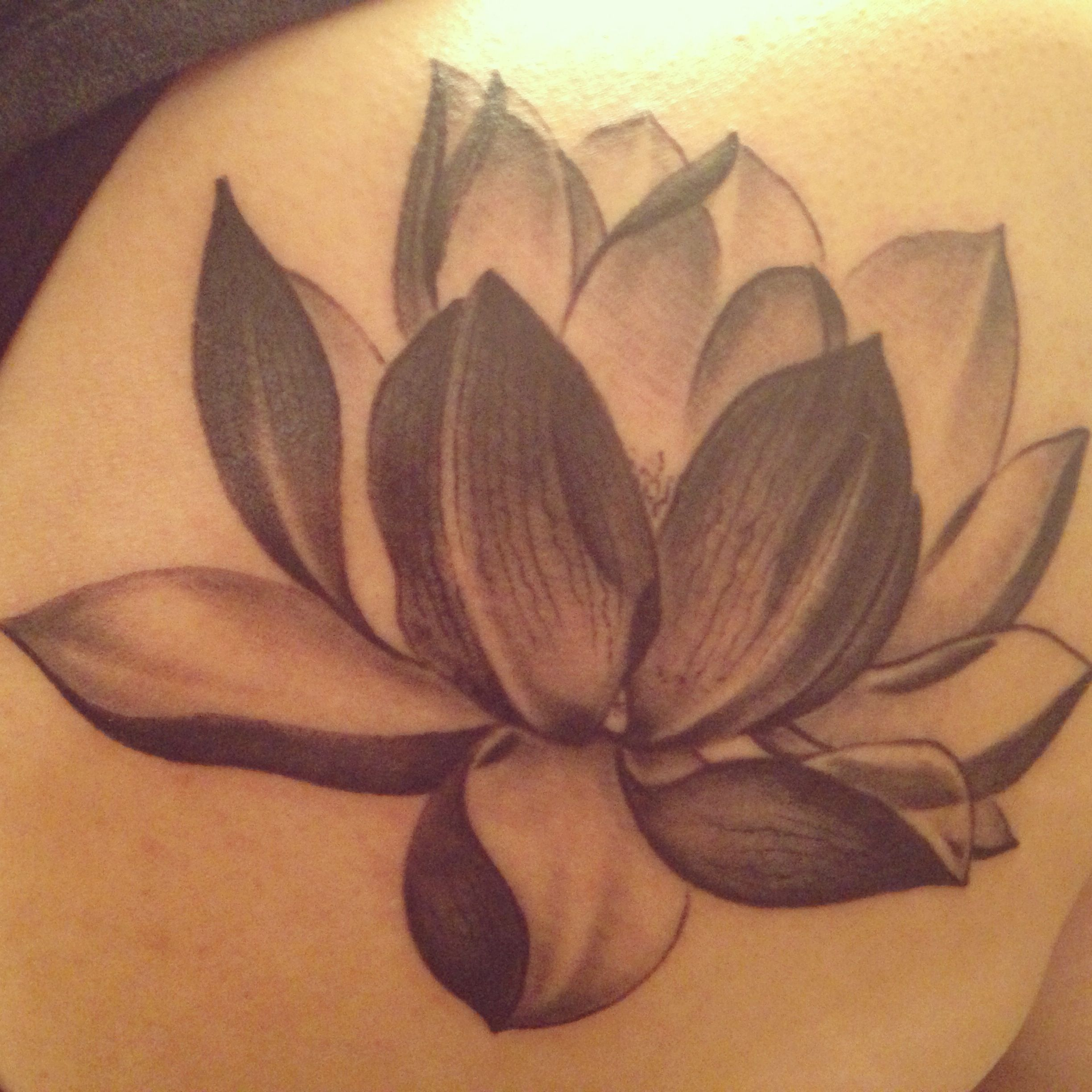 Lotus flower tattoo - Another Angle Of My Lotus Tattoo