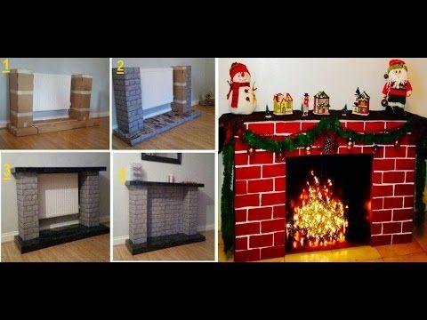 Descargar video chimenea de cart n para navidad paso a - Como hacer chimeneas decorativas ...
