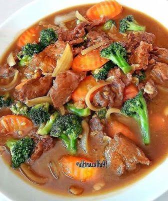 Cah Brokoli Daging Sapi Di 2020 Resep Masakan Resep Resep Daging Sapi