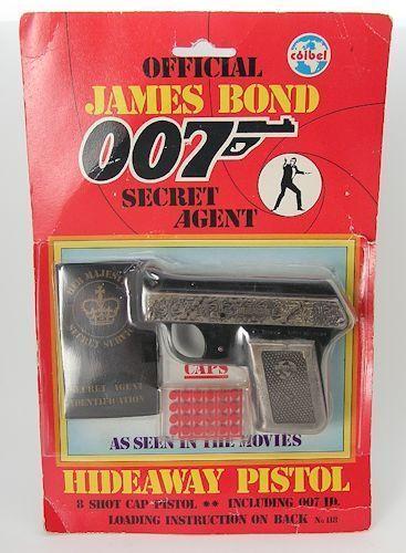 Official-1985-James-Bond-007-Secret-Agent-Hideaway-Pistol-Cap-Gun-by