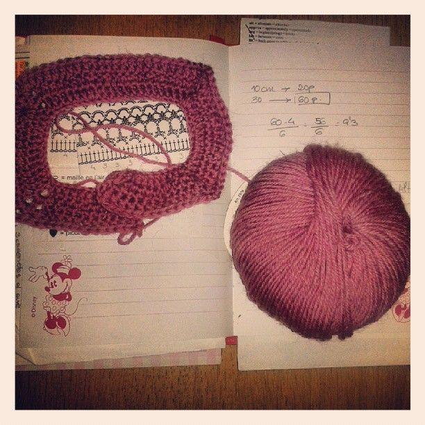 #crocheting...nuevo proyecto con @poleomentatejiendo.