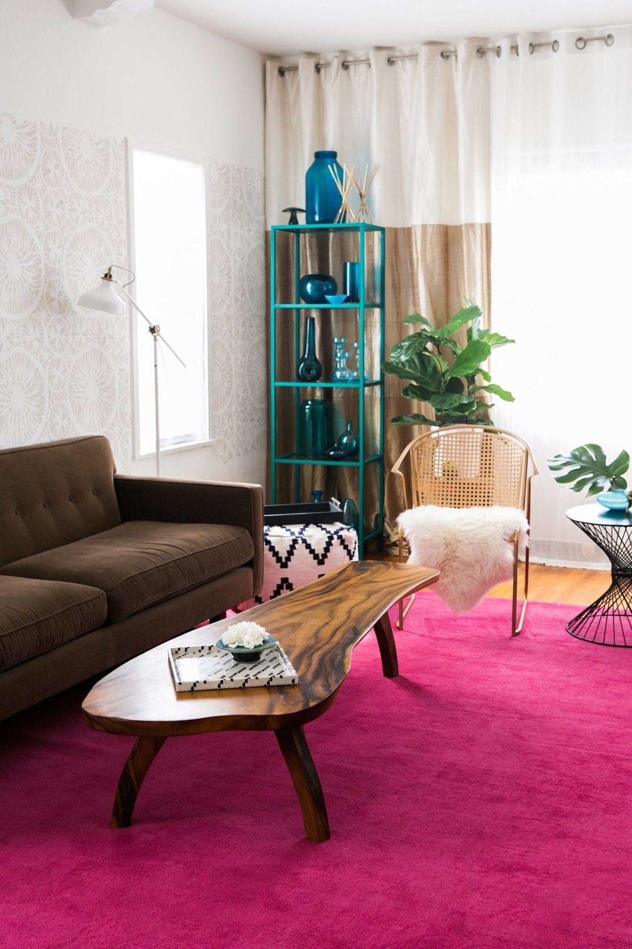 House Tour: An HGTV Design Star\'s Happy Chic Home | Wohnzimmer