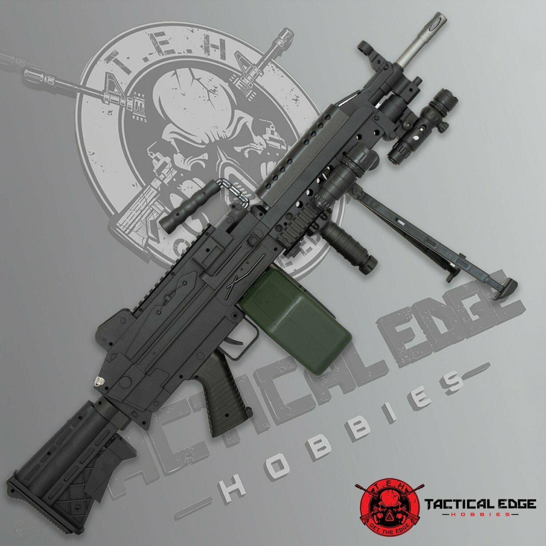 Details about New M249 Saw Toy Gelsoft Blaster Guns