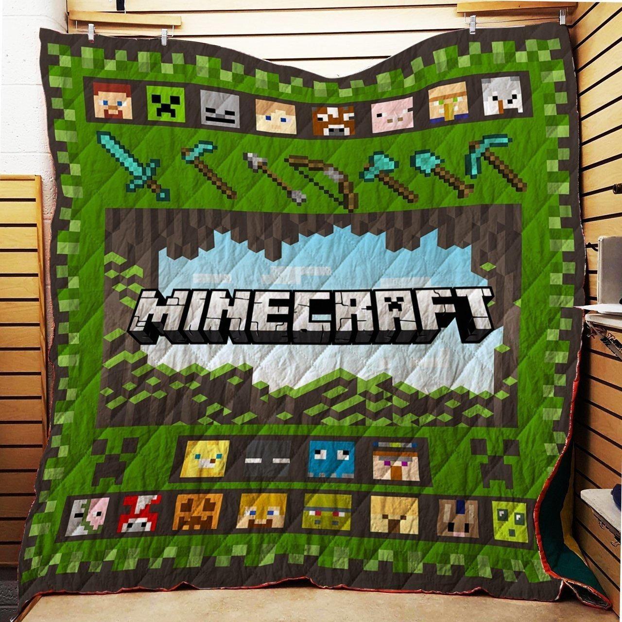 Minecraft Beautiful Imagine Art Print Characters And Tools