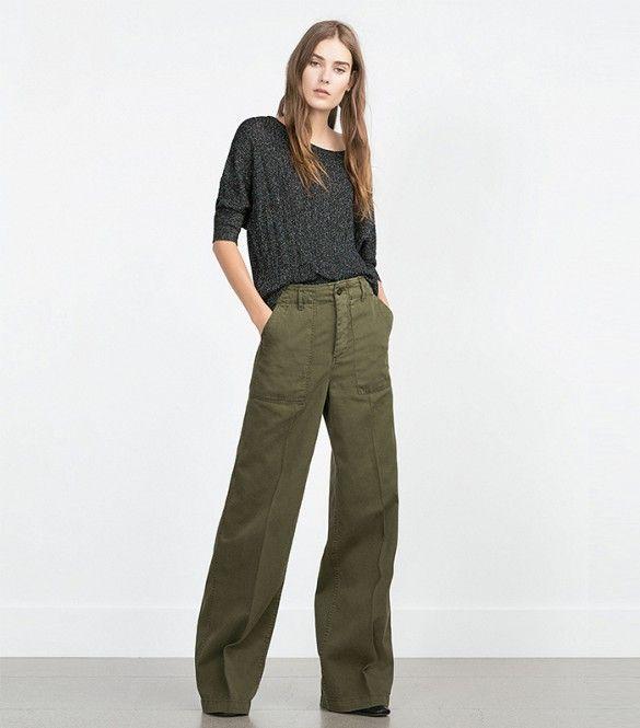 Zara Wide-Leg Trousers