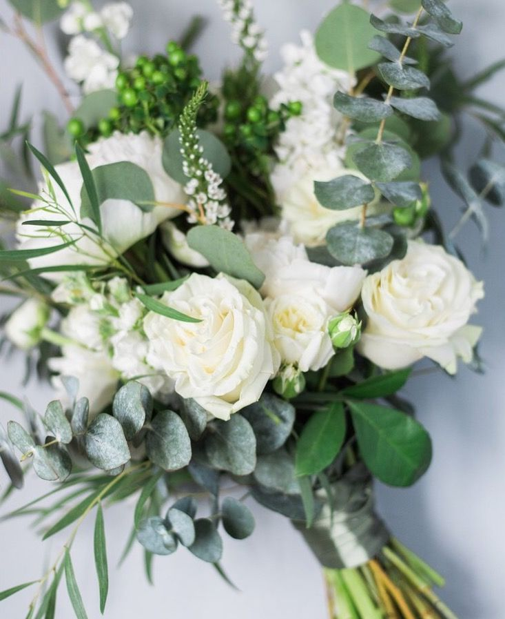 Green And White Spring Wedding Bouquet By Rosewoodproductions Tumblr