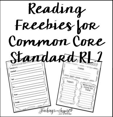Teaching Theme & Summarizing : FREE Reading Graphic
