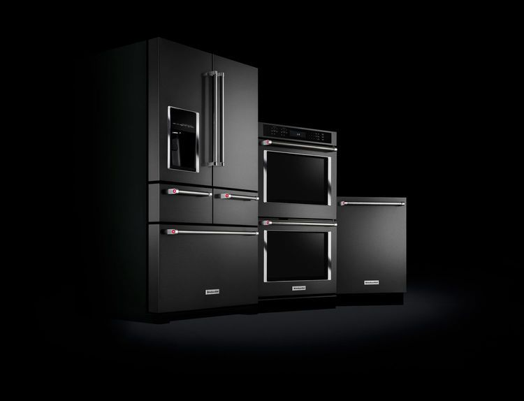 Kitchenaid Black Stainless Steel With Images Premium Kitchen