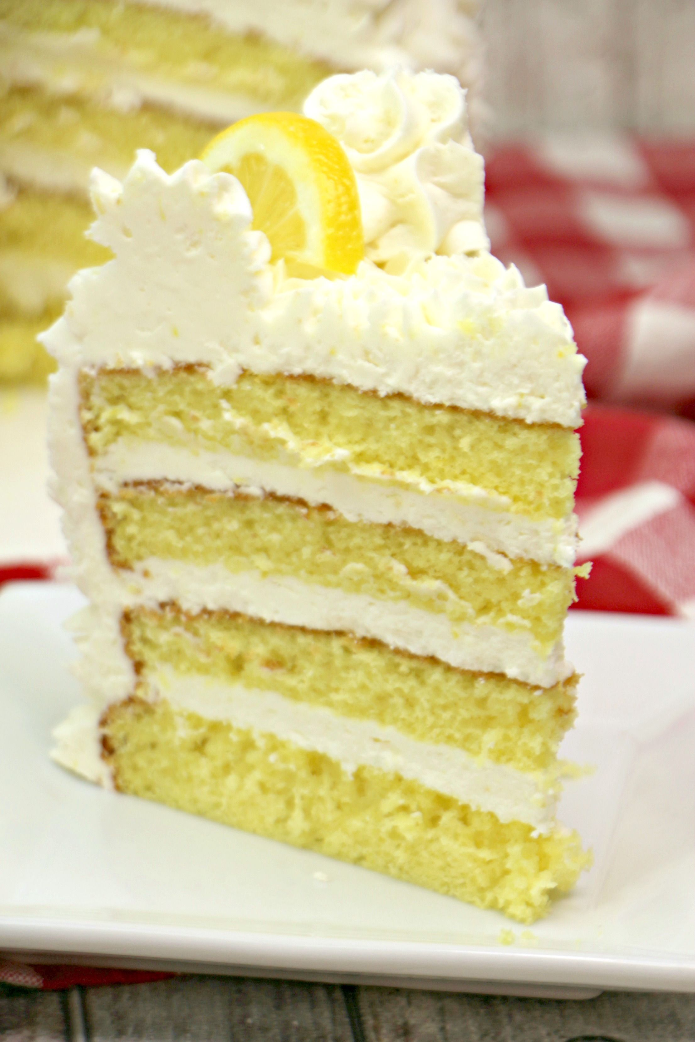 Italian Lemon Drop Cake Recipe Drop Cake Lemon Buttercream