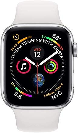 Apple Watch Series 4 (GPS + Cellular, 44mm) Silver