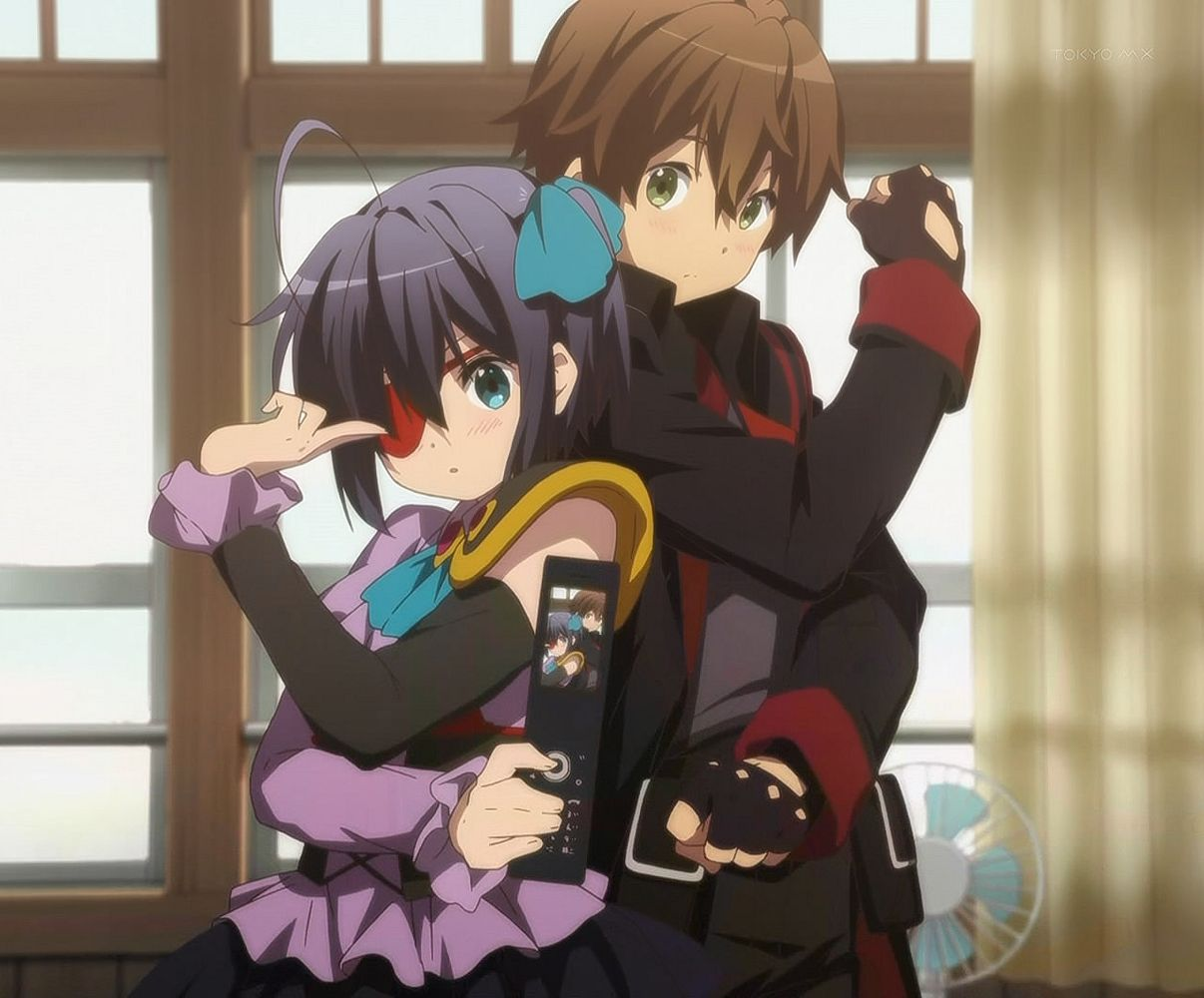 Image result for yuuta and rikka