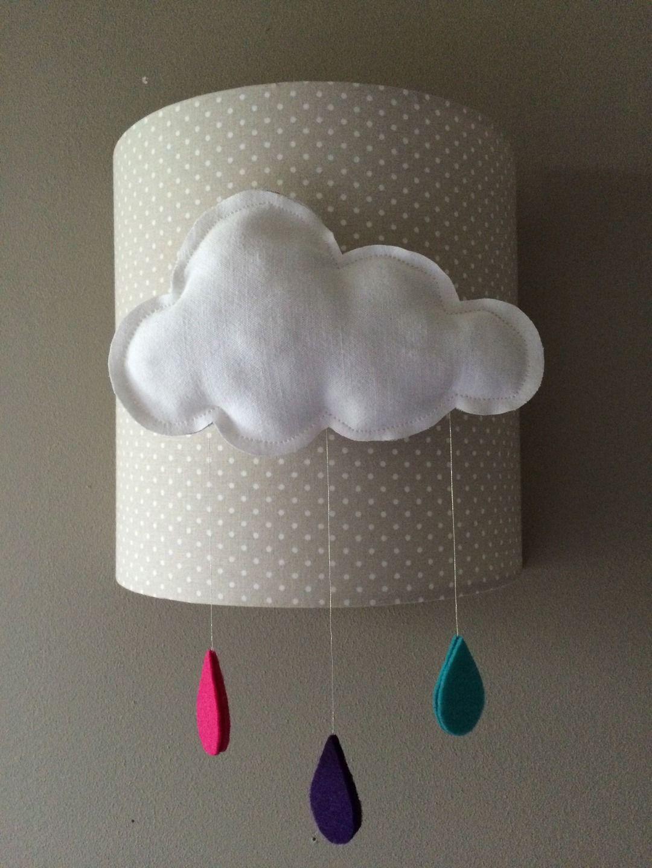 applique murale nuage pour decoration de chambre denfant chambre denfant - Applique Chambre Garcon