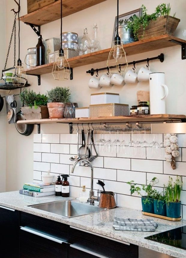 5 ideas para decorar tu cocina | Deco cocinas campo | Beautiful ...